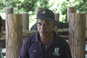Supervisor at Kuala Gandah Elephant Conservation Centre